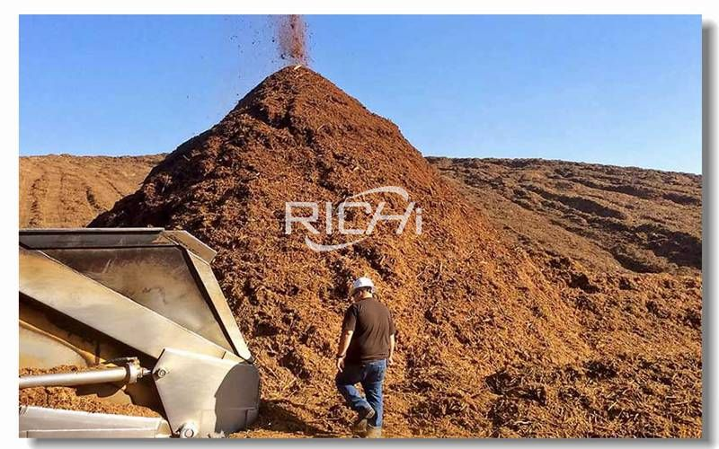 6 Tons Per Hour Straw Wood Block Sawdust Pellet Production Line Project