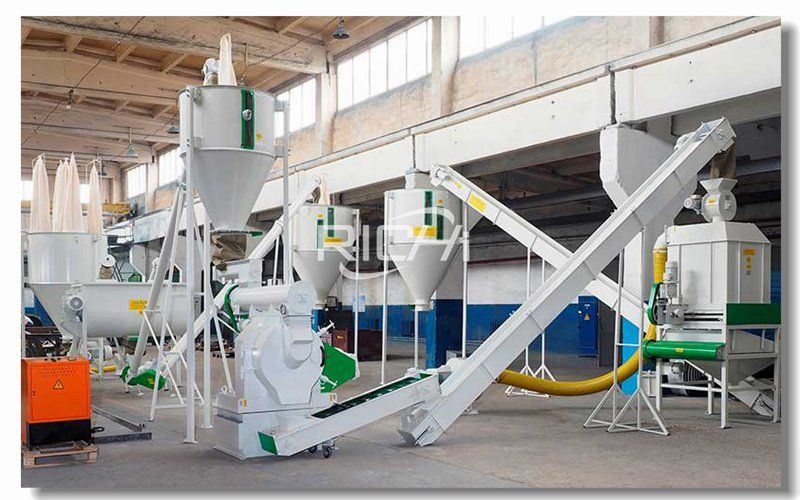 Turnkey Project of Production Line for Producing 5 Tons of Tofu Cat Litter Particles Per Hour