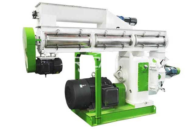 Miscanthus Pellet Machine