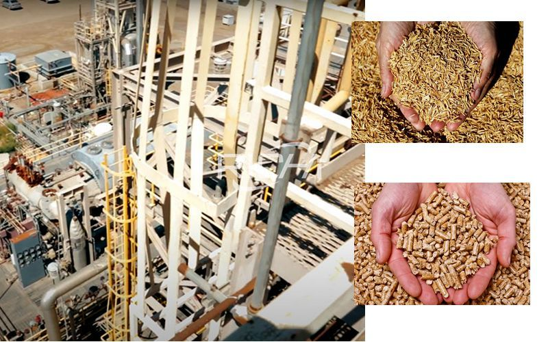 8 Tons/hour (20,000 Tons/year) Rice Husk Pellet Production Line Project