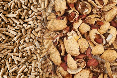 Complete Peanut Shell Pellet Mill Production Line Solution