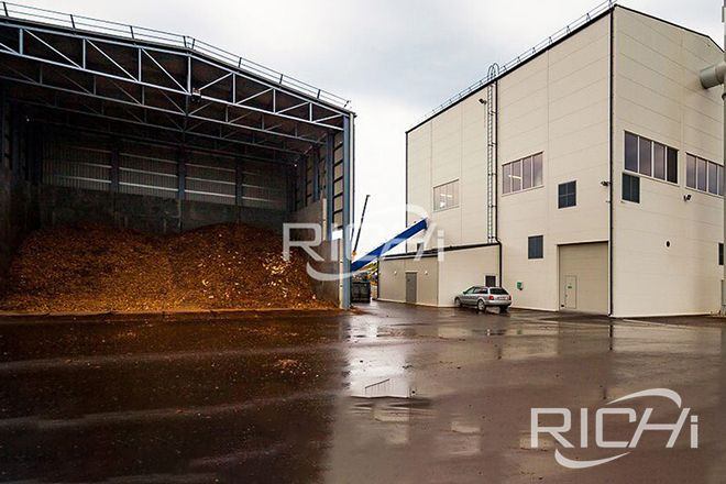 Austria 5Ton/Hour Wood pellet Production Line