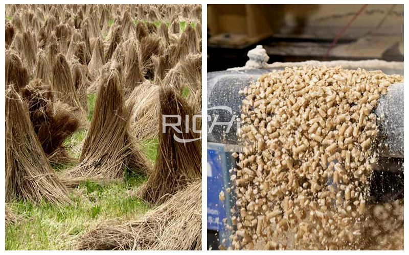 Biomass Pellet Machine: Make Flax Straw Into Fuel Pellets