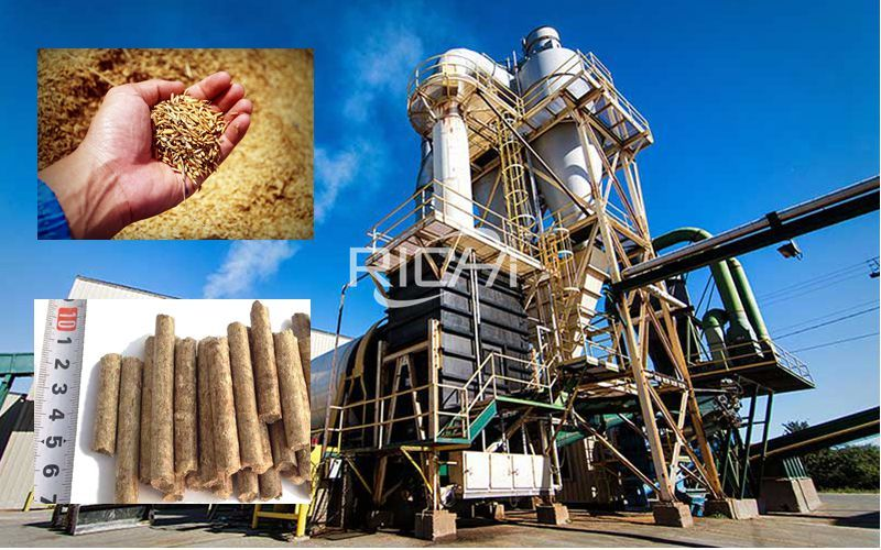 Annual production of 20,000 tons of chaff pellets and 10,000 tons of chaff production project