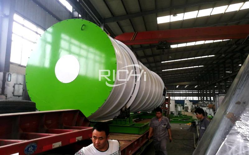 In October 2020, Richi Machinery Delivered 12 Pellet Mills and Production Line Equipment to Customer