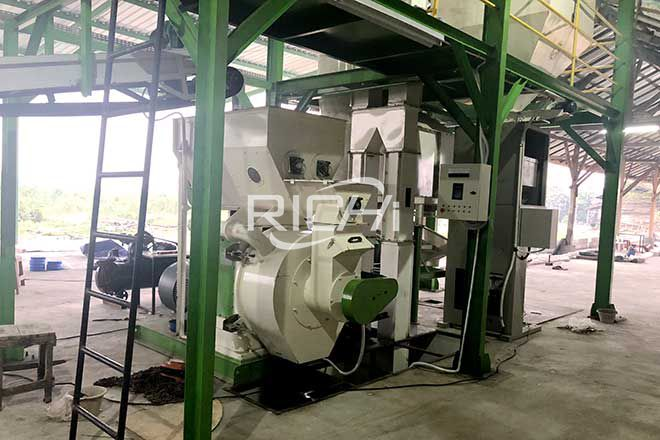 Indonesia 1-1.5 t/h Wood Pellet Production Line
