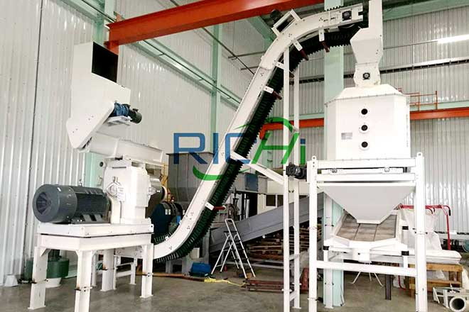 Taiwan 1-2 t/h Wood Biomass Pellet Production Line