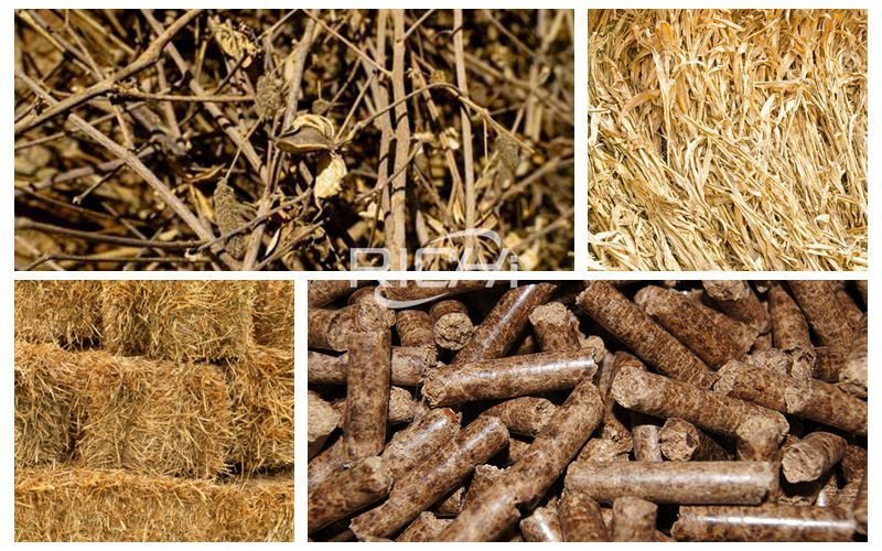 Straw Pellet Plant: How To Make Hay Grass Straw Into Pellets