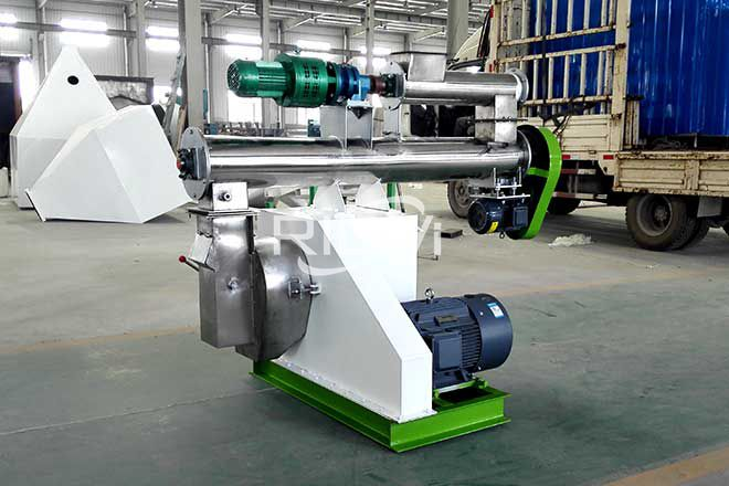 Mexico 1-2 t/h Organic Fertilizer Pellet Mill