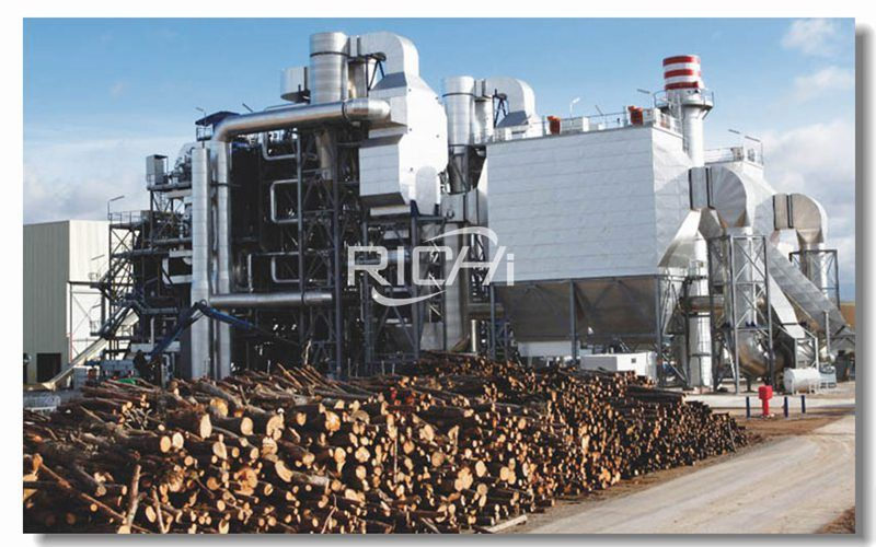 Biomass Pellet Production Line Manufactures Straw Pellets, Wood Pellets, Bamboo Pellets and Branch Pellets