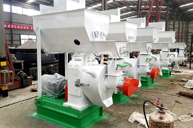 China 3-4T/H Fresh grass Pellet Production Line